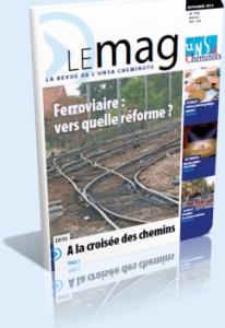 Le Mag Novembre 2012 dans Le Mag UNSA-Cheminots 753-206x300