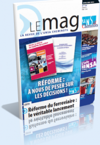 Le Mag Avril/Mai dans Le Mag UNSA-Cheminots 758-206x300