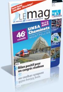 Le Mag de juin dans Le Mag UNSA-Cheminots 759-206x300