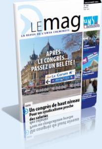Le Mag Juillet/Août  dans Le Mag UNSA-Cheminots 760-206x300