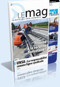 Le Mag d'Octobre dans Le Mag UNSA-Cheminots 762-206x300